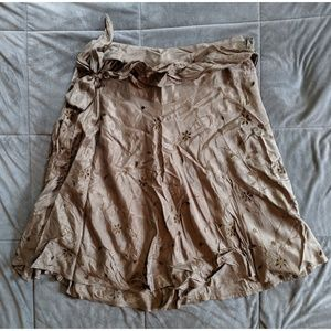 Clothing Brand R - Viscose and Polyester Skirt